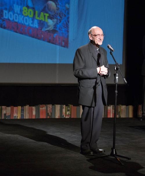 Michał Heller, benefis z okazji 80 rocznicy (fot. Adam Walanus (C))